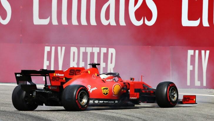 Vettel deluso: