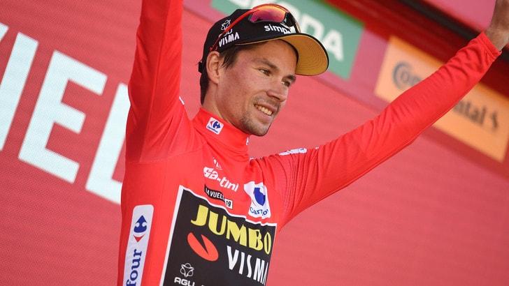 Vuelta, Roglic resta leader. Kuss vince la 15ª tappa