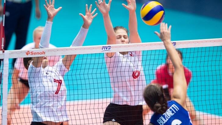 Mondiali Under 18: l'Italia fa il tris con il Canada