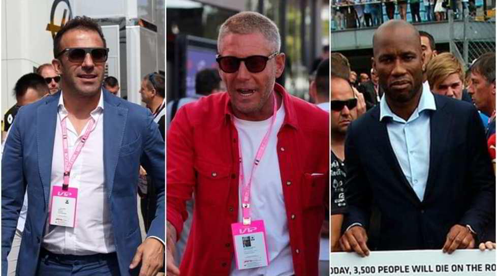 <p>Ex calciatori, cantanti come Sfera Ebbasta, e poi ancora Lapo, Aubameyang e PieroFerrari, figlio di Enzo</p>