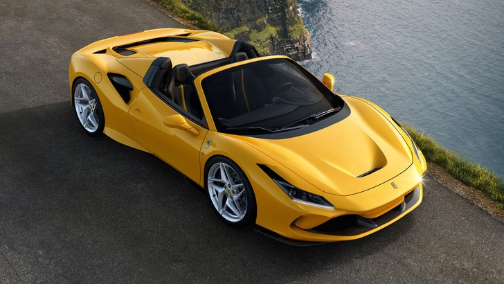 """Ferrari F8 Spider, una """"scoperta"""" da brividi"""