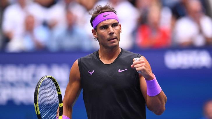 Trionfo Nadal agli Us Open, Medvedev ko in cinque set