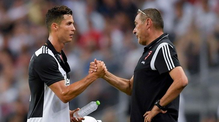 Juve, Sarri-Ronaldo: il patto dei 40 gol
