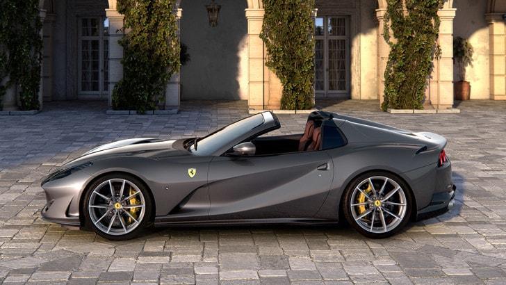 Ferrari 812 GTS, capolavoro di proporzioni