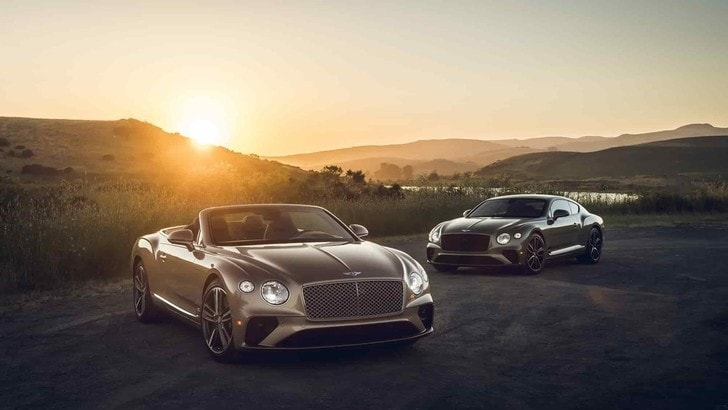 Bentley Continental GT, la novità è il V8 da 550 CV