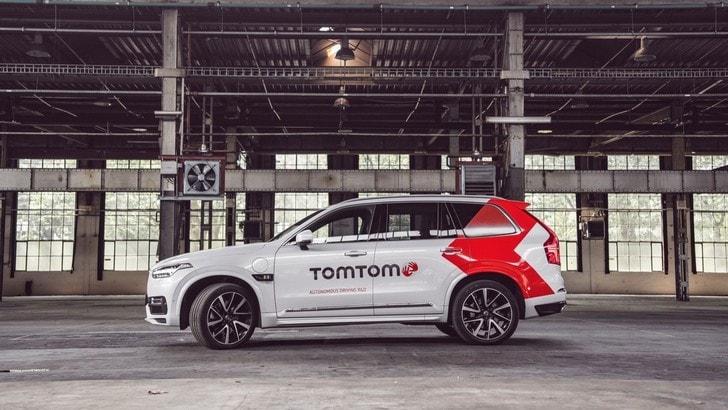 TomTom presenta al Salone di Francoforte il prototipo a guida autonoma