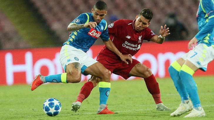 Napoli-Liverpool di Champions League in esclusiva in chiaro su Canale 5