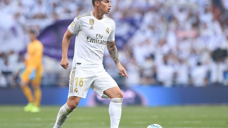 Real Madrid, James Rodriguez: