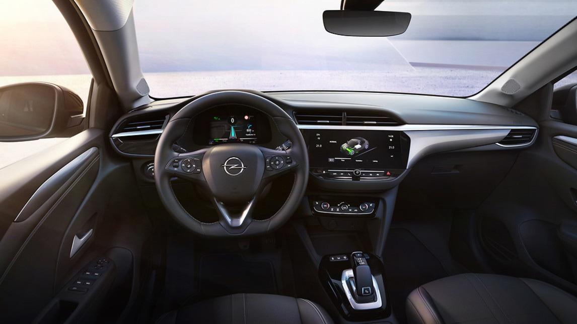 Opel Corsa-e, l'elettrica: gli scatti