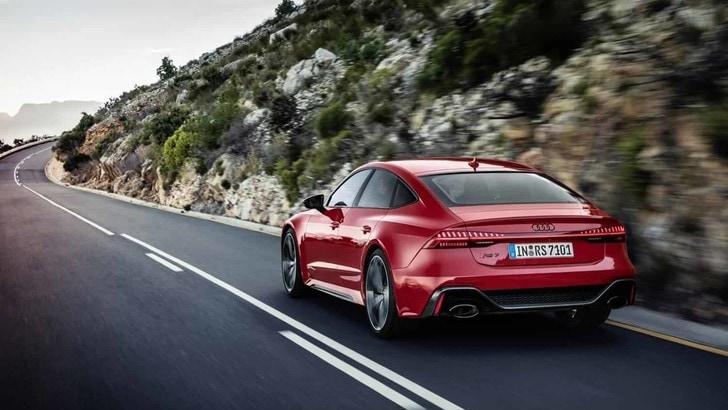 Audi RS 7 Sportback: berlina, coupé e sportiva da 600 CV