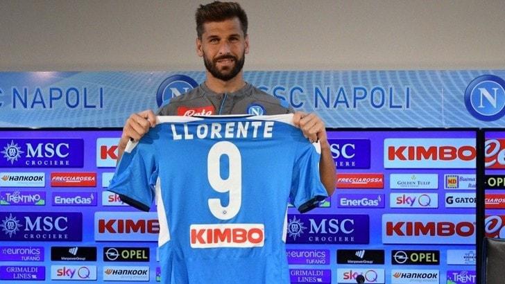 """Napoli, ecco Llorente: """"Scudetto? La pressione è tutta sulla Juve"""""""