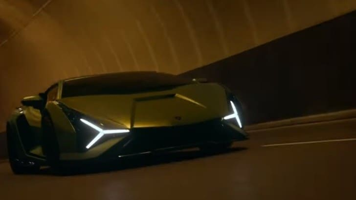 Lamborghini Sián, la presentazione in un VIDEO