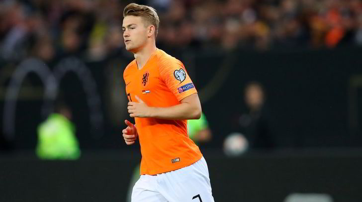 La Juve di De Ligt: decisivo con l'Olanda, ora è pronto per Sarri