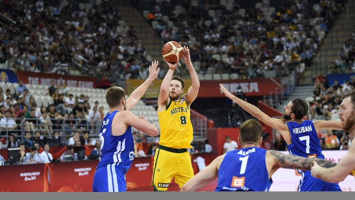 L'Australia vola in semifinale ai Mondiali di basket: Repubblica Ceca ko