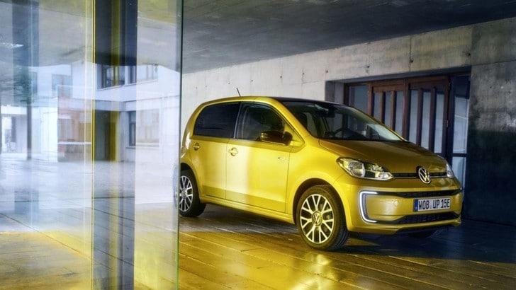 Nuova Volkswagen e-up! svelata a Francoforte