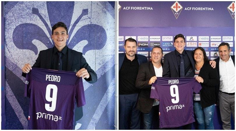 La Fiorentina presenta Pedro: debutta contro la Juve?