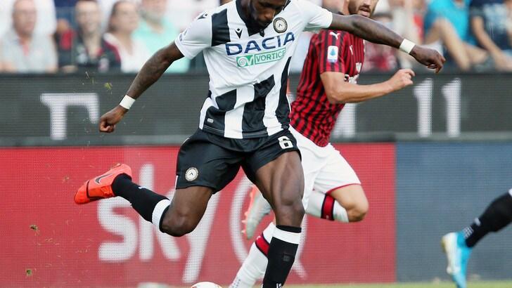 Udinese, allenamento in gruppo per Fofana
