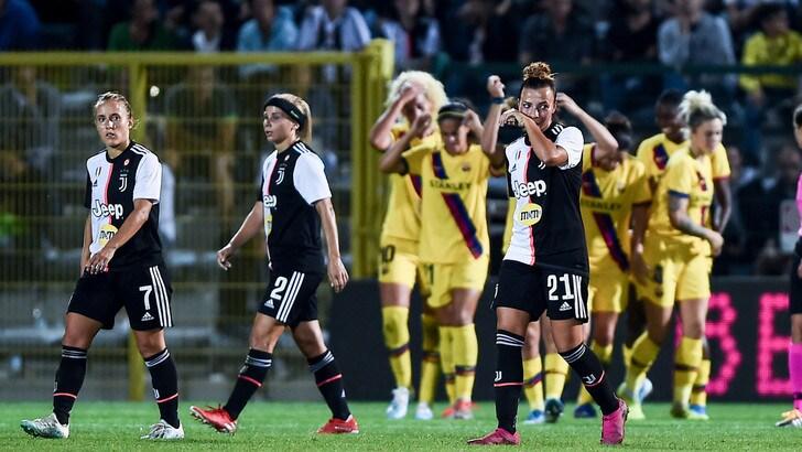 Champions League, Juventus Women ko: passa il Barcellona 2-0