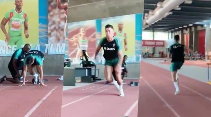 Cristiano Ronaldo a lezione da Obikwelu: così CR7 ha imparato dallo sprinter