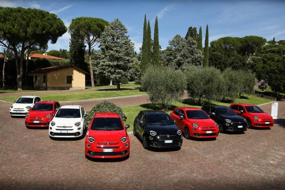 Fiat 500X Sport la presentazione a Coverciano: Foto