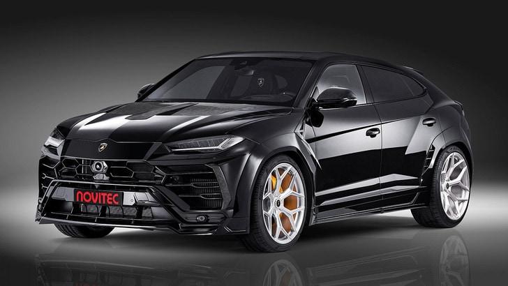 Lamborghini Urus e Novitec: tuning di potenza