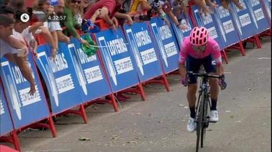 Vuelta - La prima volta di Higuita, Roglic vede rosso