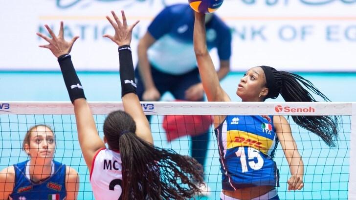 Mondiali Under 18: le azzurre battono il Perù e sono in semifinale