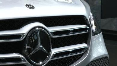 Salone di Francofore 2019, stand Mercedes: VIDEO