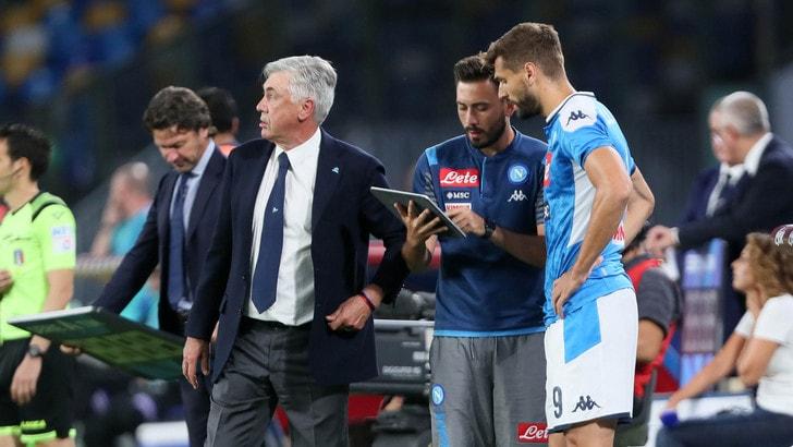 """Ancelotti si gode Llorente: """"È un giocatore completo"""""""