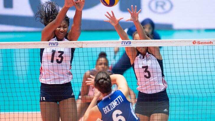Mondiali Under 18: le azzurre sono d'argento, in finale ko con gli Usa