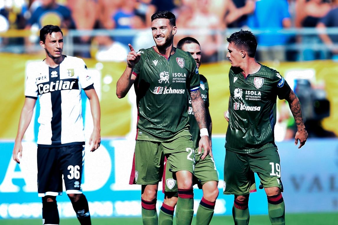 Il Cagliari si rialza: la doppietta di Ceppitelli e Simeone stendono il Parma