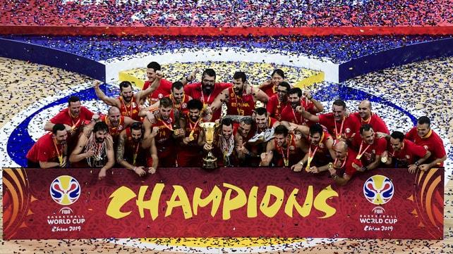 Basket: la Spagna è sul tetto del mondo