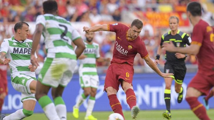 Roma-Sassuolo 4-2, il tabellino