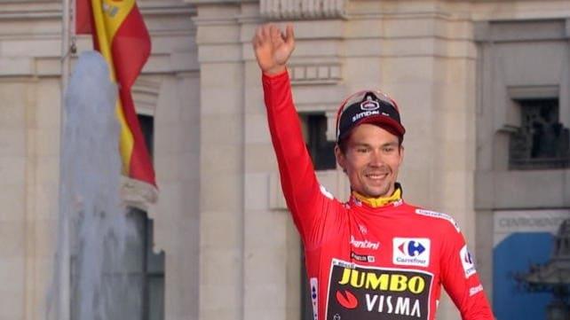 La Vuelta - Passerella a Madrid tra brindisi e festeggiamenti