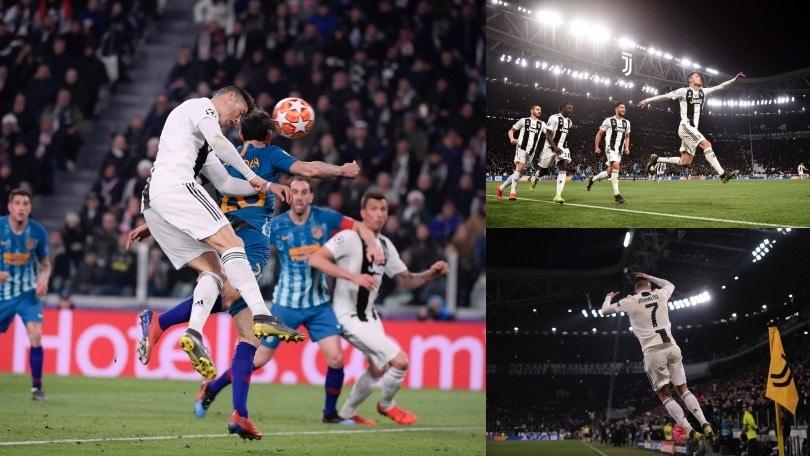 Juve, Cristiano Ronaldo: che numeri contro l'Atletico Madrid