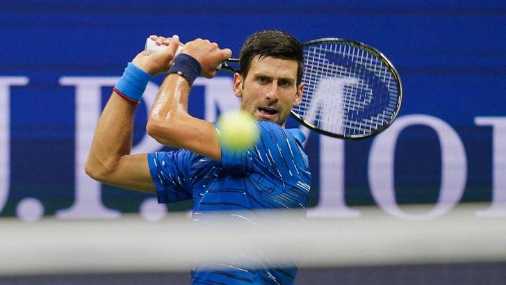 Djokovic, l'infortunio è alle spalle: