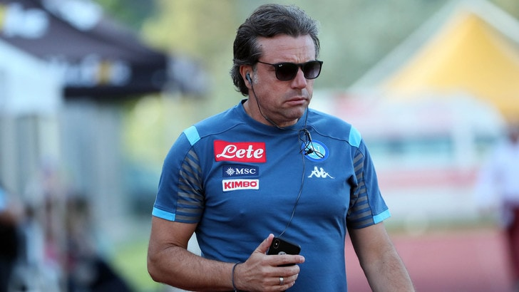 """Giuntoli: """"Rammarico per Icardi? Il Napoli è completo"""""""