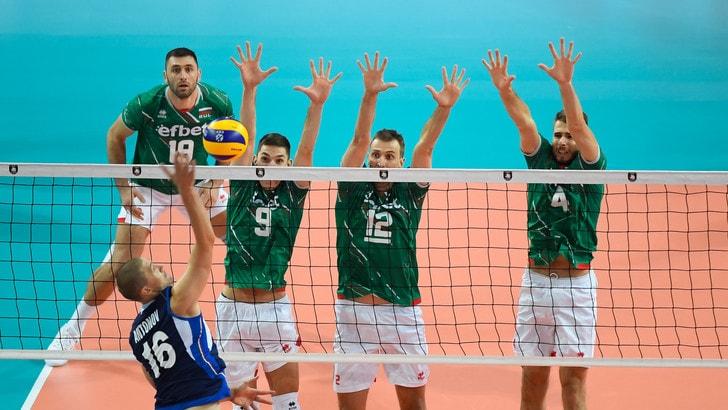 Europei Maschili: gli azzurri domano la Bulgaria in quattro set