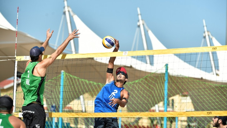 Qualificazione Olimpica: le coppie azzurre al secondo turno