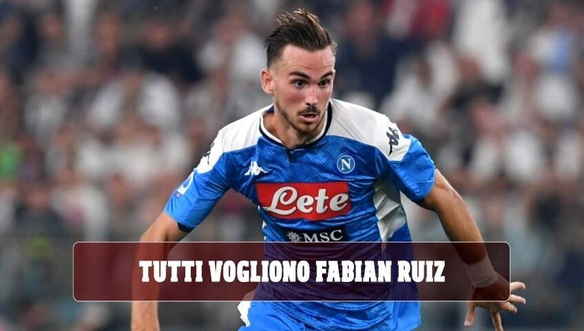 Napoli, tutti vogliono Fabian Ruiz