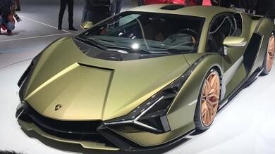 Lamborghini, Aventador ibrida