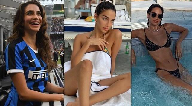 Jessica Kahawaty, la sexy modella austrialana innamorata dell'Inter