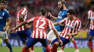 Atletico Madrid-Juve, le pagelle: fosforo Higuain, Cuadrado colpo di classe