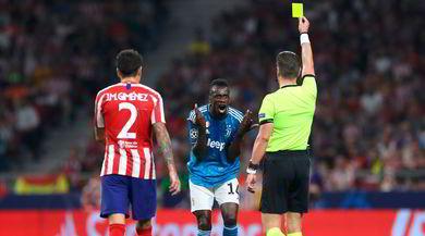 Atletico Madrid-Juve, la moviola: Matuidi-Koke, non c'è fallo. Regolare il gol di Savic