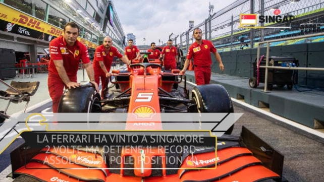 GP Singapore - Ferrari e dintorni