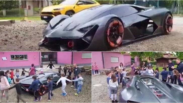 Lamborghini, Urus e Terzo Millennio tra i banchi di scuola