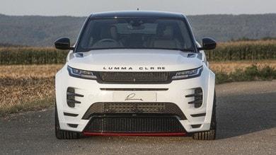 Range Rover Evoque, come cambia con il tuning