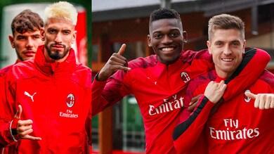 Milan, c'è il derby: clima sereno in allenamento