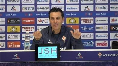 """Montella: """"Ho rischiato tatticamente con la Juve"""""""