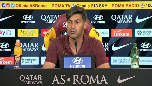 """Fonseca: """"Smalling? Sarà al meglio con l'Atalanta"""""""